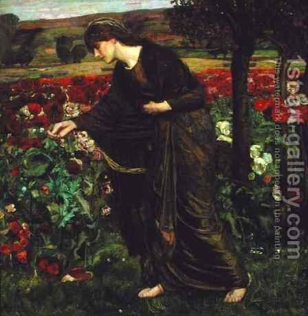 In the Garden of Proserpina, 1893 by Henry A. (Harry) Payne - Reproduction Oil Painting