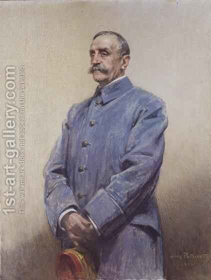Portrait of Marshal Ferdinand Foch 1851-1929 1920 by Jean Patricot - Reproduction Oil Painting