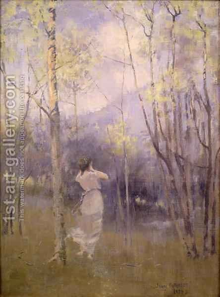 Spring in Moniaive, 1889 by James Paterson - Reproduction Oil Painting