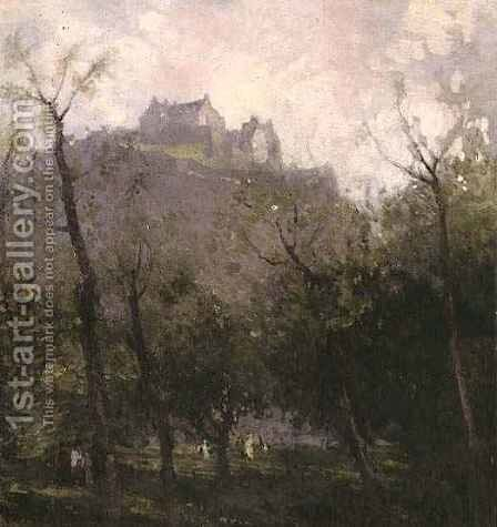 Edinburgh by James Paterson - Reproduction Oil Painting