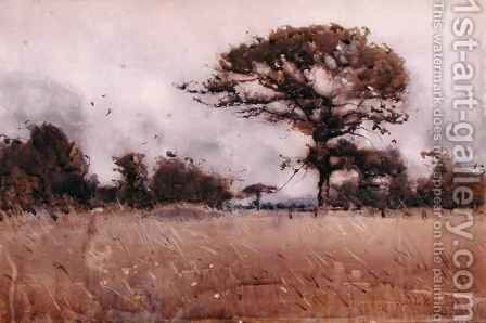 Wind, 1883 by James Paterson - Reproduction Oil Painting