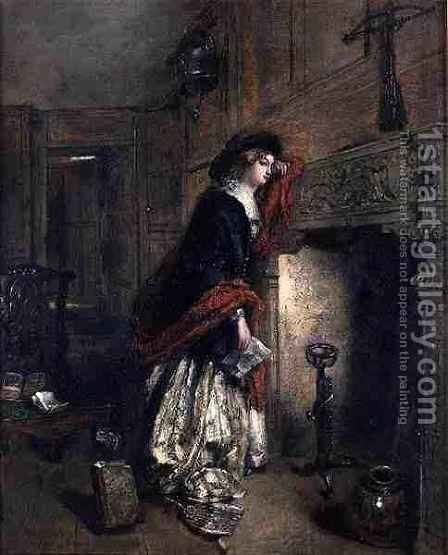The Love Letter by Daniel Pasmore - Reproduction Oil Painting