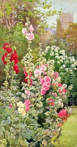 The Garden by Alfred Parsons - Reproduction Oil Painting