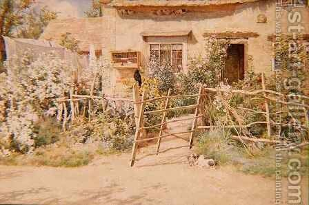 Hot Afternoon by Alfred Parsons - Reproduction Oil Painting
