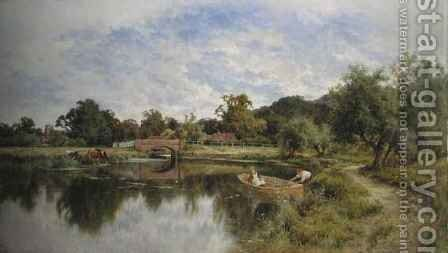 A Peaceful Day by Henry Hillier Parker - Reproduction Oil Painting