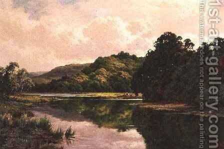 Sudbury on Thames by Henry Hillier Parker - Reproduction Oil Painting