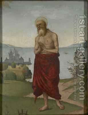 St. Onuphrus by Domenico Panetti - Reproduction Oil Painting