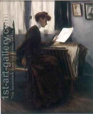 LAmatrice de Dessins, 1904 by Jacques Palyart - Reproduction Oil Painting