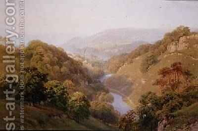 A Moorland View near Barnard Castle, County Durham by Harry Sutton Palmer - Reproduction Oil Painting