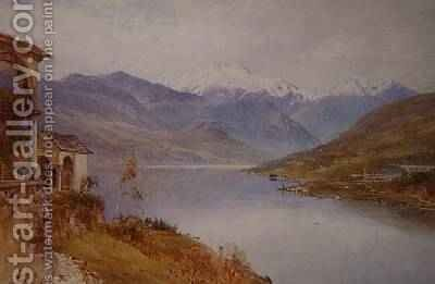 Sacro Monte, Lake Orta by Harry Sutton Palmer - Reproduction Oil Painting