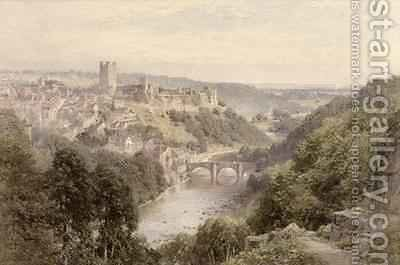 Richmond, Yorkshire by Harry Sutton Palmer - Reproduction Oil Painting