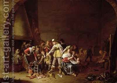 The Treasure trove by Anthonie Palamedesz. (Stevaerts, Stevens) - Reproduction Oil Painting