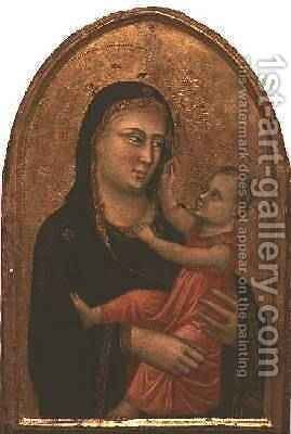 Madonna and Child by Buonaguida Pacino di - Reproduction Oil Painting