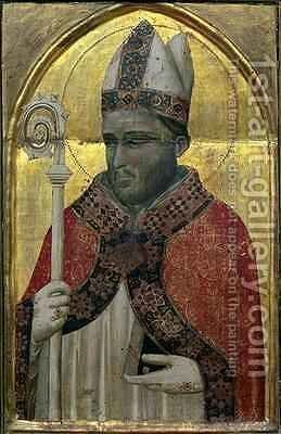 St. Proculus by Buonaguida Pacino di - Reproduction Oil Painting