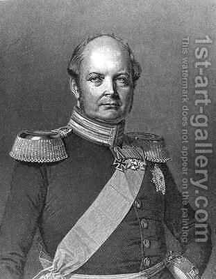 Friedrich Wilhelm IV 1795-1861 by (after) Otto, Johannes Samuel - Reproduction Oil Painting