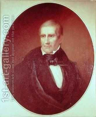 Portrait of William Henry Harrison by Bass Otis - Reproduction Oil Painting