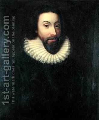 John Winthrop 1588-1649 1834 by Charles Osgood - Reproduction Oil Painting