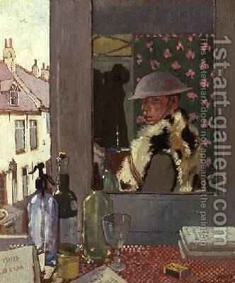 Ready to Start by Sir William Newenham Montague Orpen - Reproduction Oil Painting