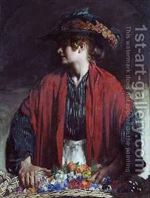 Lottie of Paradise Walk by Sir William Newenham Montague Orpen - Reproduction Oil Painting
