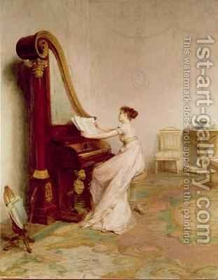 Music when soft voices die vibrates in the memory by Sir William Quiller-Orchardson - Reproduction Oil Painting
