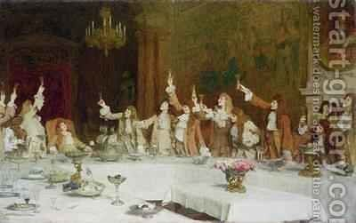 The Young Duke 1889 by Sir William Quiller-Orchardson - Reproduction Oil Painting