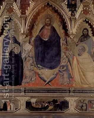 The Strozzi Altarpiece 1357 2 by Andrea Orcagna - Reproduction Oil Painting