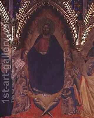 The Strozzi Altarpiece 1357 4 by Andrea Orcagna - Reproduction Oil Painting