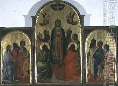 Pentecost by Andrea Orcagna - Reproduction Oil Painting
