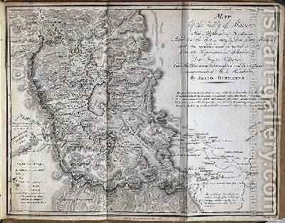 Map Of The Valley Of Mexico Painting By After Oltmanns Jabbo