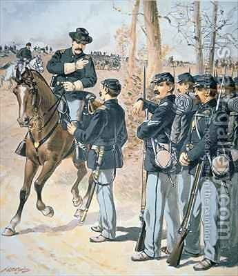 Campaign Uniforms of the Federal Army by Henry Alexander Ogden - Reproduction Oil Painting