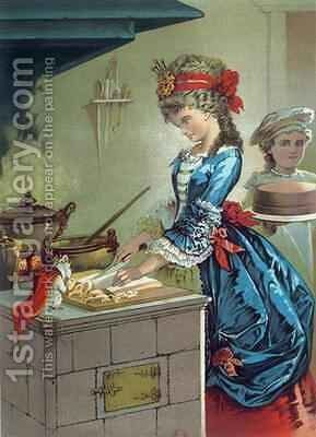In the Kitchen illustration from The Nutcracker by ETA Hoffman 1776-1822 1883 by Carl Offterdinger - Reproduction Oil Painting