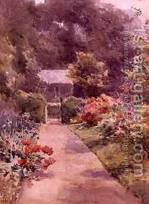 The Cottage Garden by Helen O'Hara - Reproduction Oil Painting