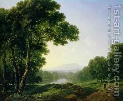 Lismore Castle Waterford Ireland by James Arthur O'Connor - Reproduction Oil Painting