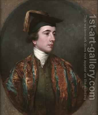 Portrait of a School Leaver by James Northcote, R.A. - Reproduction Oil Painting