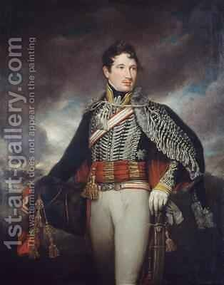 Lieutenant Andrew Finucane 10th Light Dragoons 1811 by James Northcote, R.A. - Reproduction Oil Painting