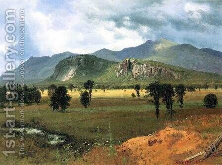 Moat Mountain Intervale, New Hampshire by Albert Bierstadt - Reproduction Oil Painting