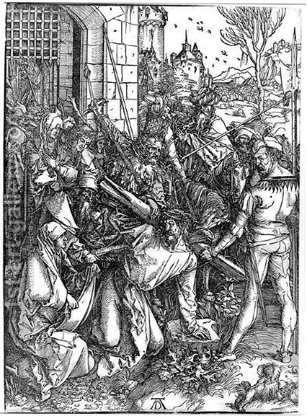 Bearing of the Cross by Albrecht Durer - Reproduction Oil Painting