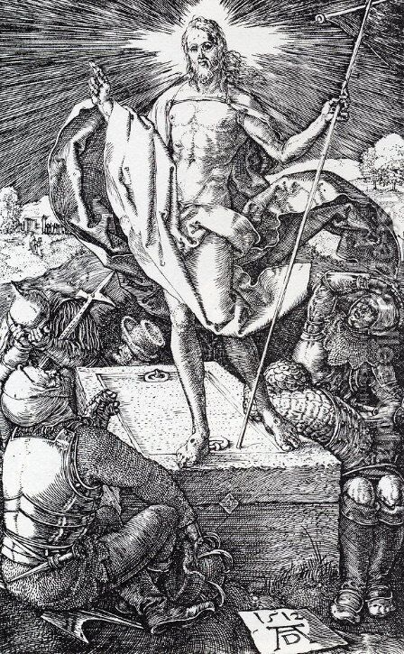 Bearing Of The Cross 2 by Albrecht Durer - Reproduction Oil Painting