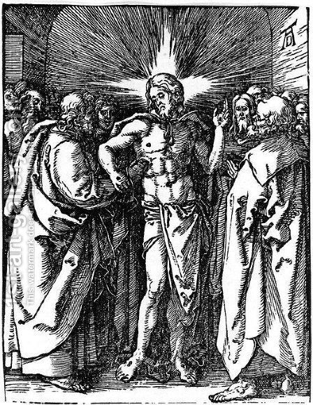 Christ Appearing to His Disciples by Albrecht Durer - Reproduction Oil Painting