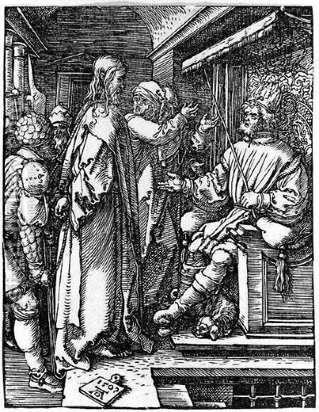 Christ Before Herod by Albrecht Durer - Reproduction Oil Painting