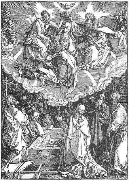 Coronation by Albrecht Durer - Reproduction Oil Painting