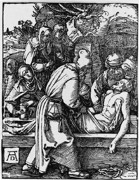 Entombment by Albrecht Durer - Reproduction Oil Painting