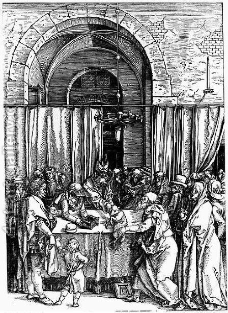 Joachim's Offering Rejected by Albrecht Durer - Reproduction Oil Painting