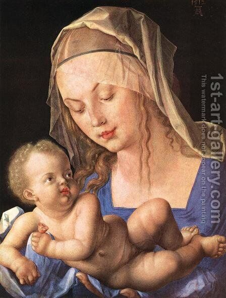 Madonna with the Cut Pear by Albrecht Durer - Reproduction Oil Painting