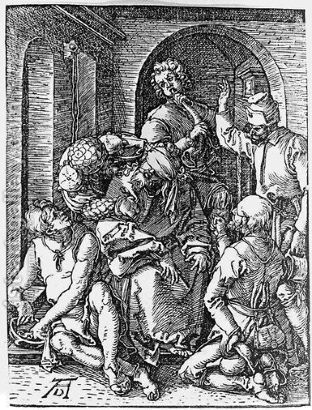 Mocking of Christ by Albrecht Durer - Reproduction Oil Painting