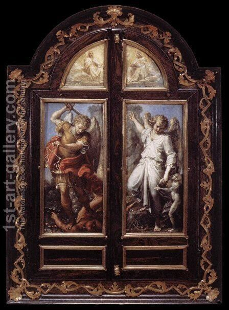 Closed by Annibale Carracci - Reproduction Oil Painting