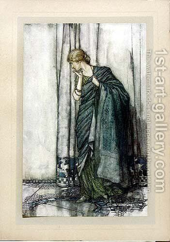 Helena by Arthur Rackham - Reproduction Oil Painting