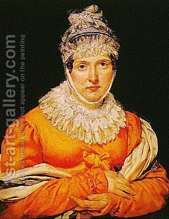 Madame Récamier by Antoine-Jean Gros - Reproduction Oil Painting