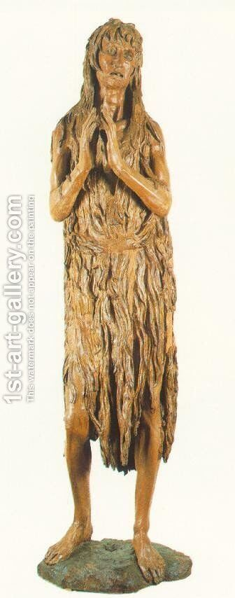St Mary Magdalen by Donatello - Reproduction Oil Painting