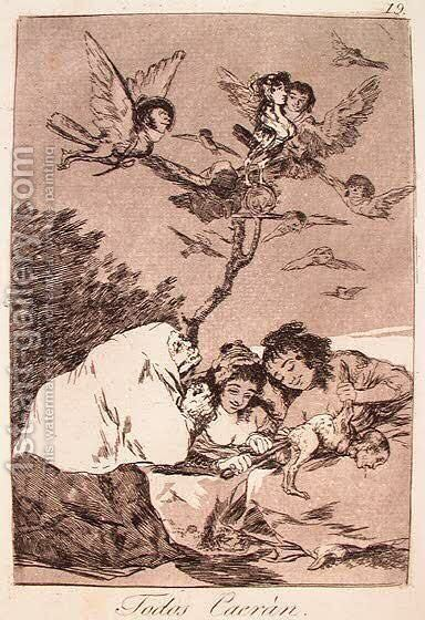All Will Fall by Goya - Reproduction Oil Painting